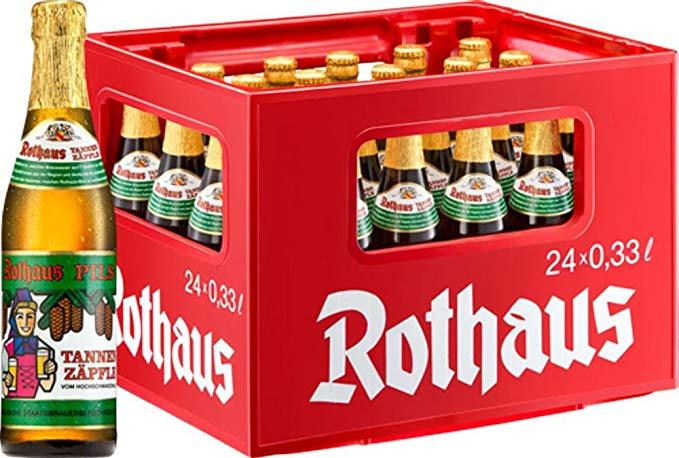 [lokal] Rothaus Tannenzäpfle in Südbaden 24er Kiste für 11,39 EUR