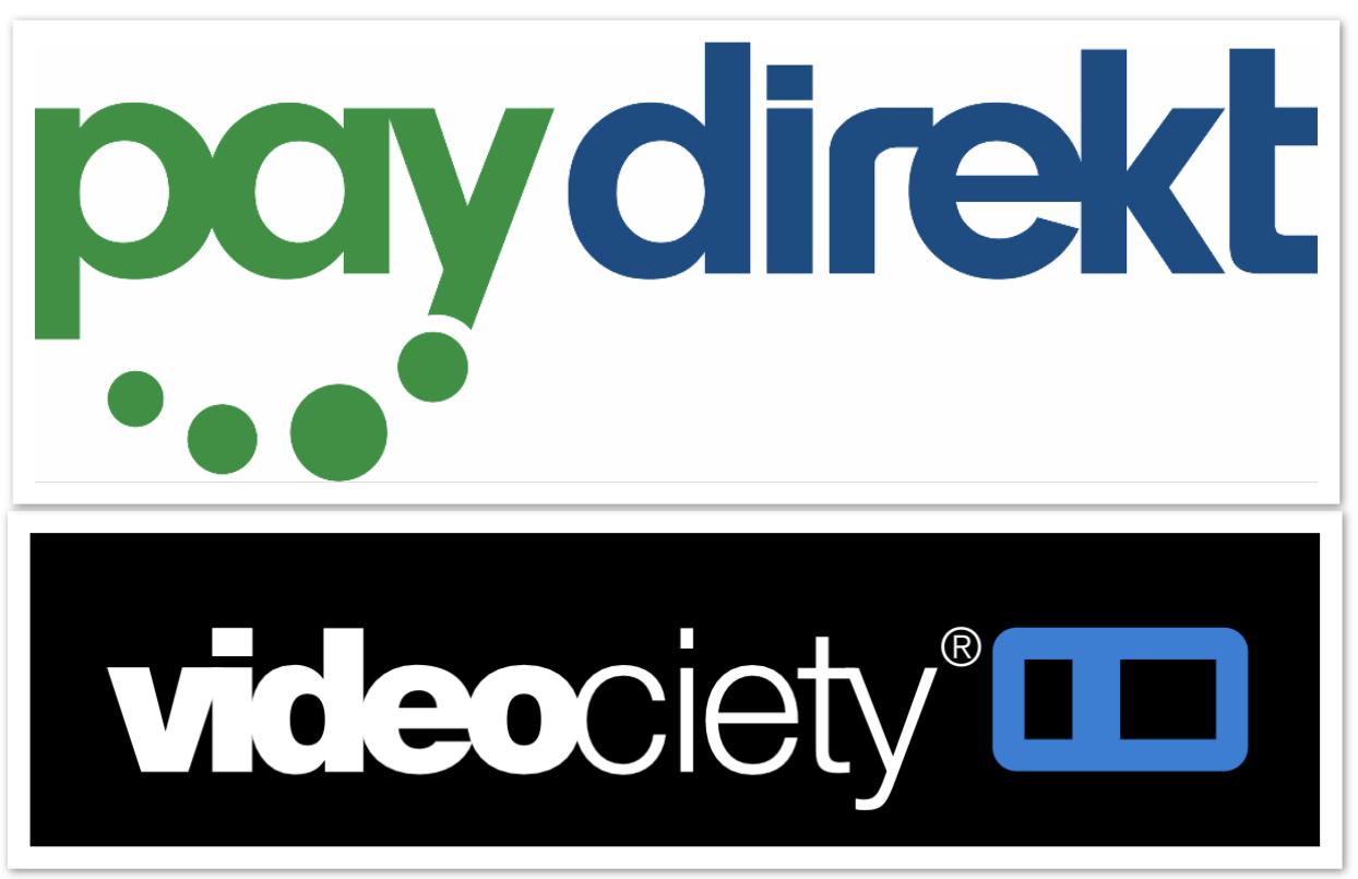 Online-Videothek videociety: 5€ aufladen + 5€ geschenkt von Paydirekt