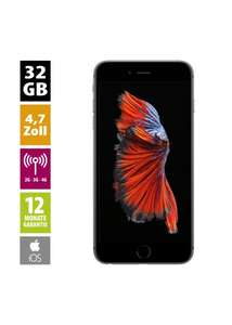 Apple iPhone 6s (32GB) - Space Gray - Refurbished Grade A