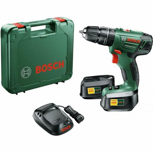 Bosch PSB Expert Li 2 Schraubendreher Bohrmaschine 2 Akkus 1,5 Ah 18 Volt || für nur 99€ statt 111€