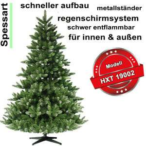 Künstlicher Weihnachtsbaum von 120 cm bis 270 cm Höhe
