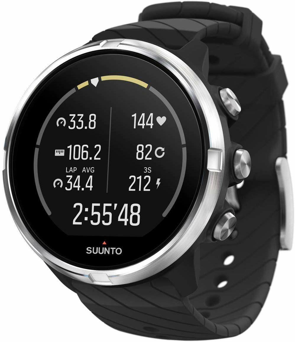 Suunto 9: Fitness Smartwatch (GPS, 7 Tage Akku, Herzfrequenzmessung, Wasserdicht bis 100 Meter)