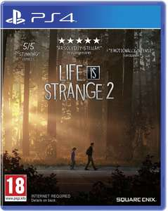 Life is Strange 2 (PS4 & Xbox One) für je 28,86€ (Amazon FR)
