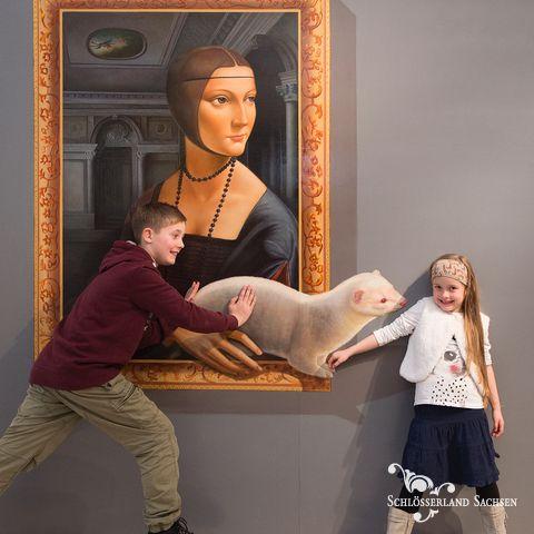 [Albrechtsburg Meissen] Am Eröffnungstag (23.11.) freier Eintritt zu »Du bist die Kunst!« 3D-Illusionen im Großformat