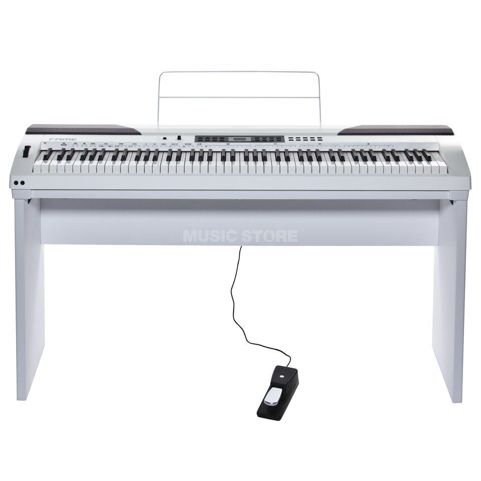Fame DP-4000 WH Digitalpiano weiß matt, 88 Tasten inklusive Ständer und Pedal für 299€ inkl. Versandkosten mit Paypal