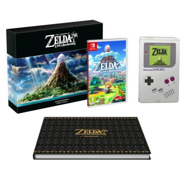 The Legend of Zelda: Link's Awakening Limited switch
