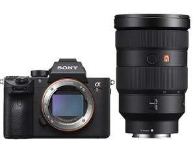 Sony Alpha 7R III Systemkamera inkl. FE 24-70F2,8 GM Objektiv