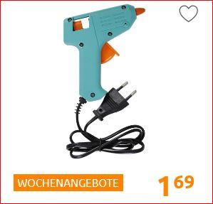 Heißklebepistole 10 Watt, verschiedene Varianten für 1,69 Euro [Action]