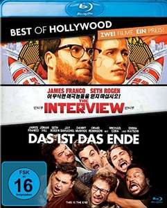 Das ist das Ende + The Interview Best of Hollywood Collection (2 Disc Blu-ray) für 8,49€ (Amazon Prime)
