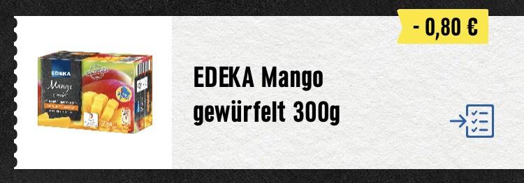 """EDEKA [lokal HH NDS] """"Mango tiefgefroren"""" günstiger durch Gutschein (unbegrenzt)"""