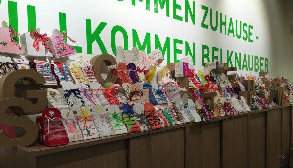 Nikolausstiefel Aktion bei Knauber, Lokal Bonn & Köln