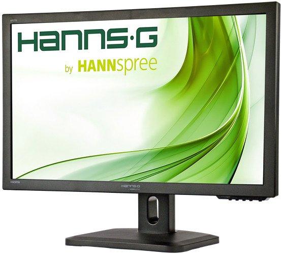 "Büromonitor Hannspree HP278UJB (27"", IPS, FHD, 300cd/m², HDMI, DP, VGA, USB-Hub, höhenverstellbar, Pivot, Lautsprecher, 3 Jahre Garantie)"