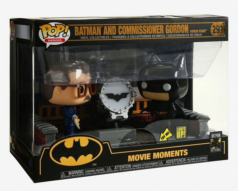Batman - POP!-Vinyl Figur mit leuchtendes Bat-Signal für 19,99€ (GameStop)