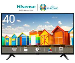 [Amazon ] Hisense H40BE5000 (40 Zoll) Fernseher TV (Full HD, Triple Tuner) [A] [KEIN SMART TV]
