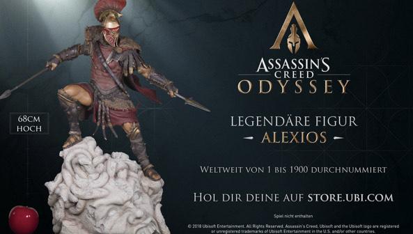 Assassin's Creed Odyssey - The Alexios Legendary Figurine (möglich für 277,99€)