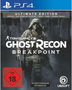 Tom Clancy's Ghost Recon Breakpoint Ultimate Edition (PS4 & Xbox One) für 49,99€ (Ubisoft)