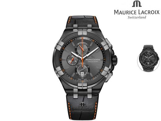 Maurice Lacroix Aikon Armbanduhr Chronograph AI1018 [Ibood]