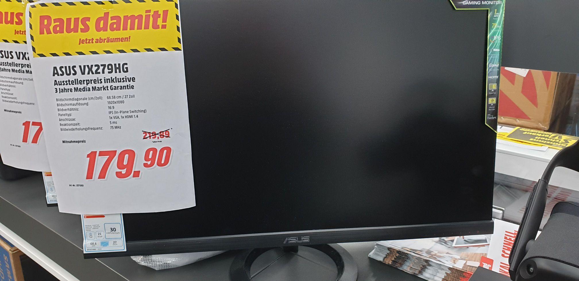 [Media Markt Indupark Dortmund] Asus VX279HG Monitor