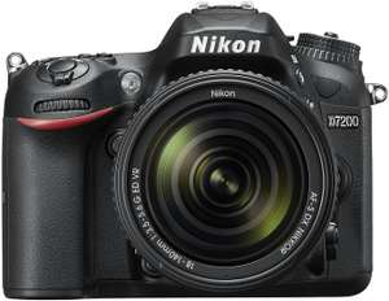 Nikon D7200 Spiegelreflexkamera inkl. 18-140F3,5-5,6 ED VR Objektiv