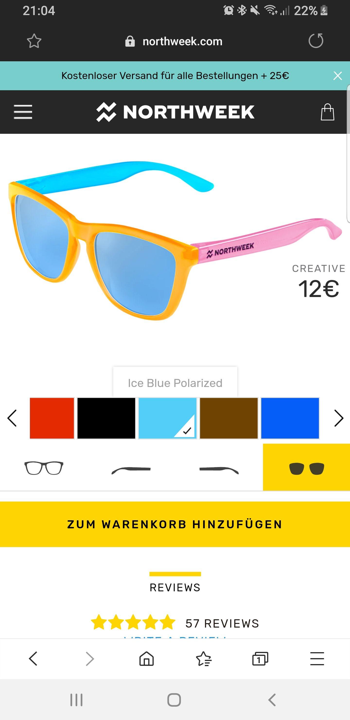 Northweek Sonnenbrille personalisieren