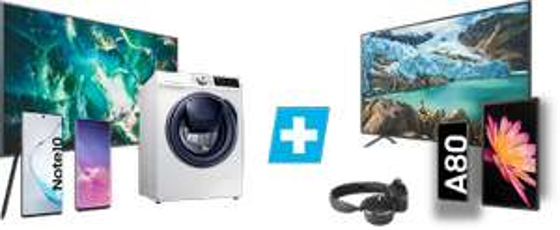"""Samsung Bundle Aktion: 2 Produkte kaufen, 1 zahlen: bspw. Galaxy S10e und 50"""" UHD TV o. Tab S5e LTE o. A80 o. 27"""" Gaming Monitor LC27RG"""