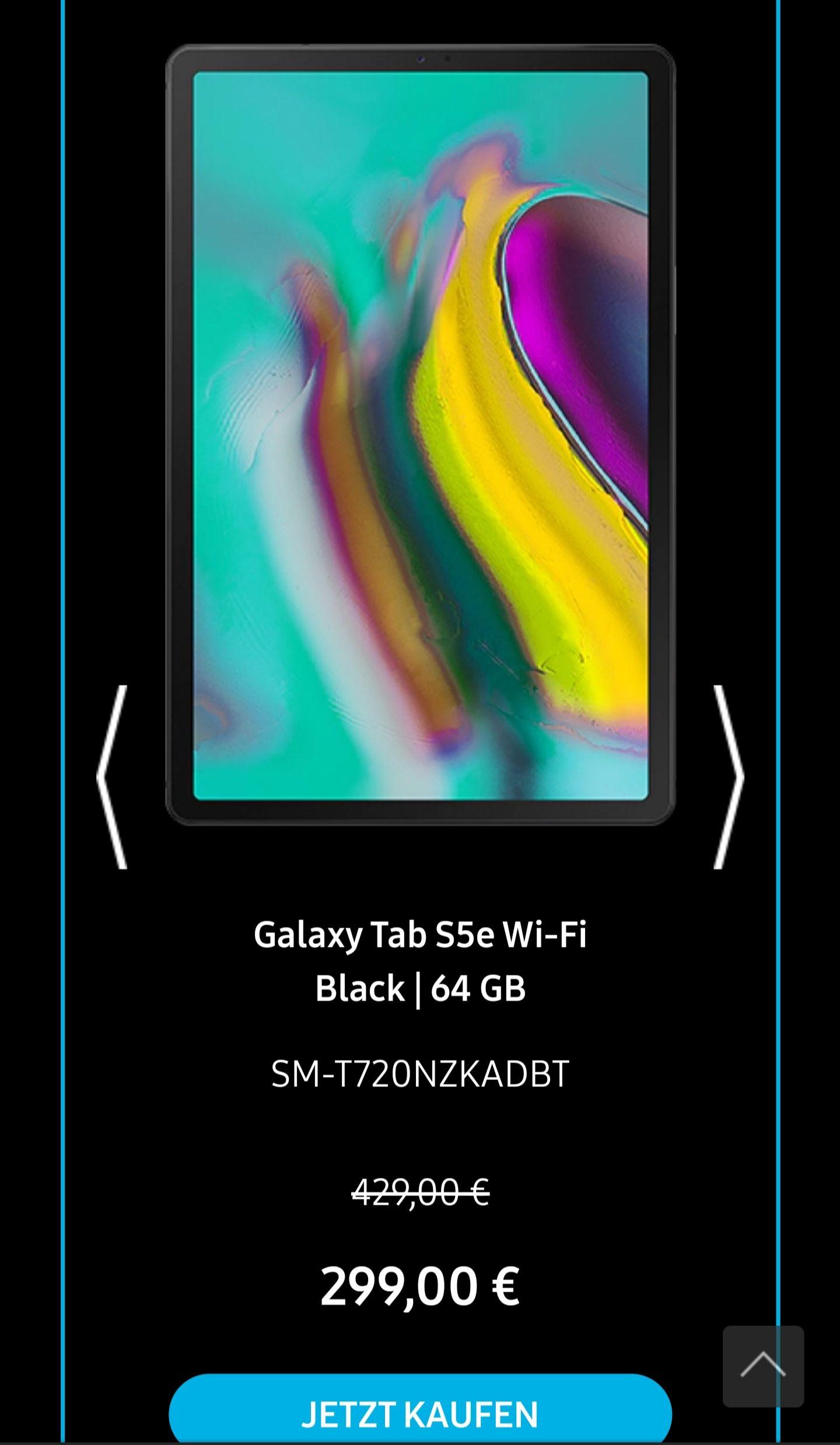 Samsung Galaxy Tab S5e 64gb (Wifi) / #SamsungBlackWeeks