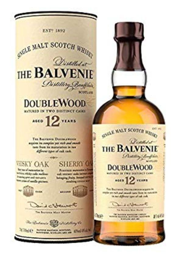 The Balvenie Double Wood 12 Jahre 40% Whisky Scotch