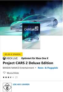 [xbox] [Live Gold] [MS Store] Project CARS 2 Deluxe Edition