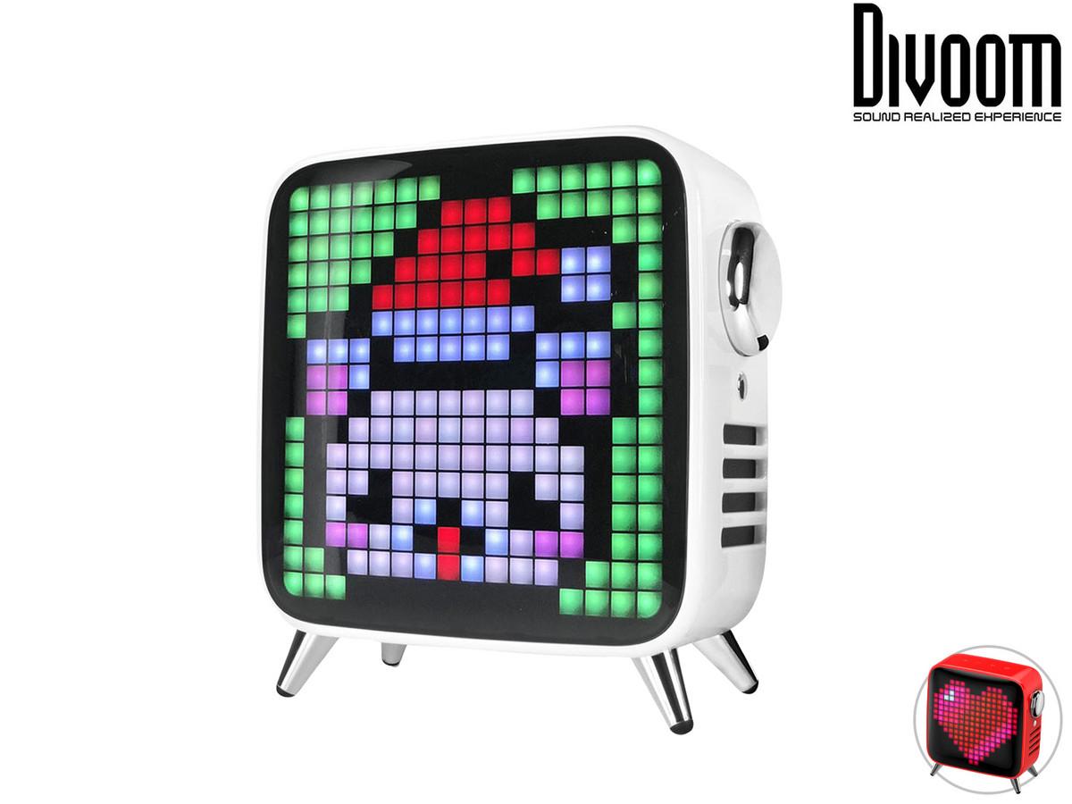 """Divoom Bluetooth-Lautsprecher """"Tivoo Max"""" (40 W, Subwoofer, Mit Smart Pixel Art App) [iBOOD]"""