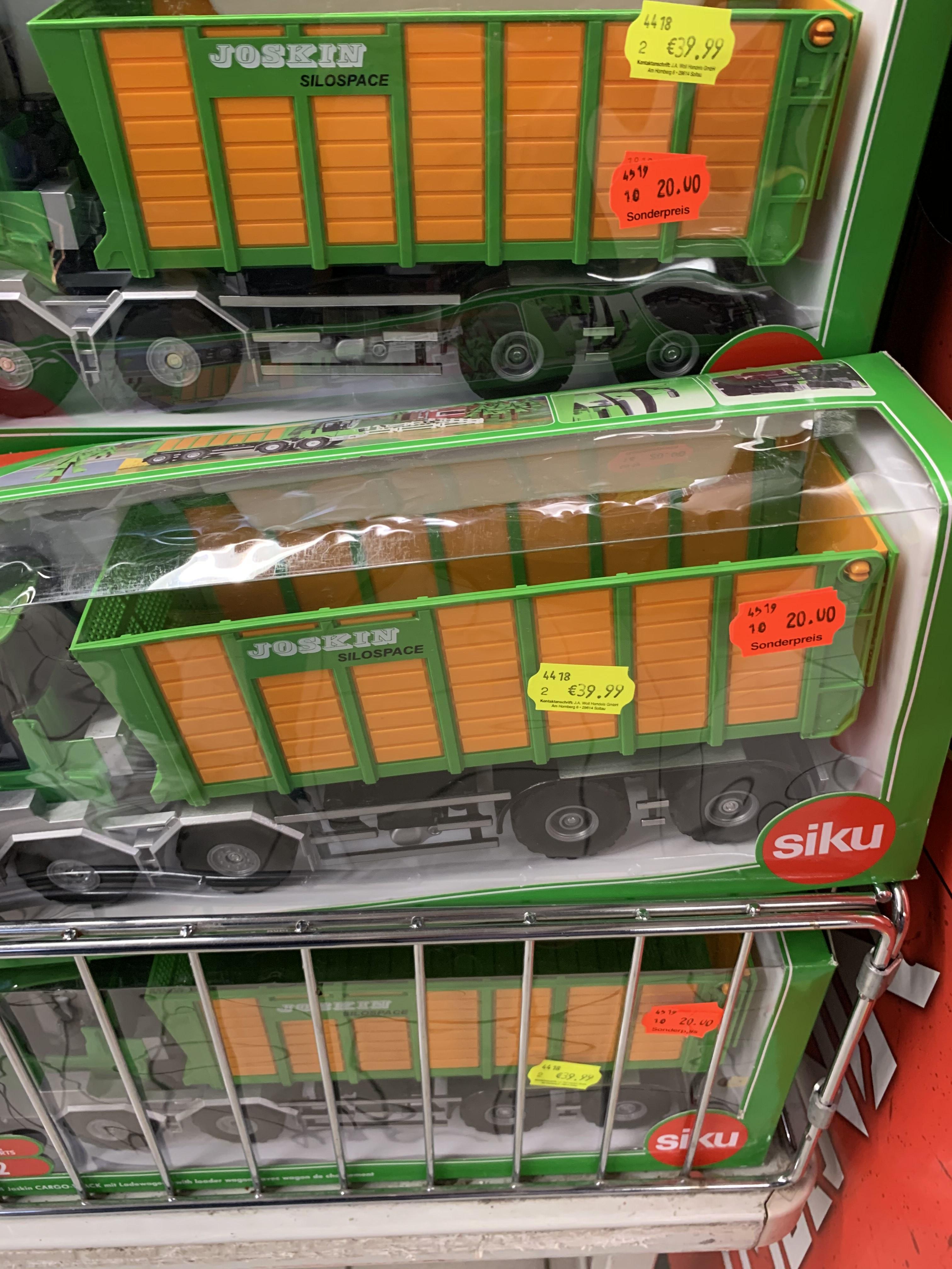 [Lokal?] Siku Joskin Cargo-Track mit Ladewagen für 20€ [Hildesheim]