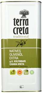 [Amazon Prime] Terra Creta Extra Natives Olivenöl, 5 l