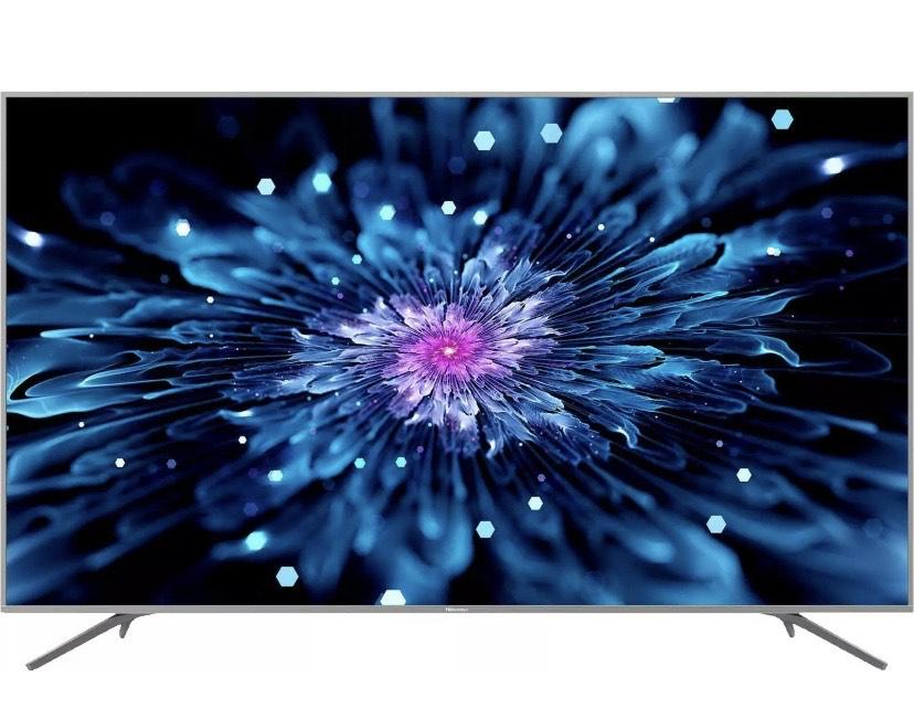 HISENSE H75B7510 LED TV (Flat, 75 Zoll/189 cm, UHD 4K, SMART TV, VIDAA U3.0) Energieeffizienzklasse: A