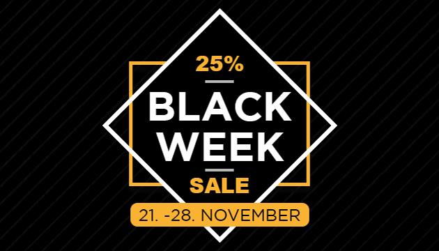 BLACK WEEK SALE 25% auf alles*, auch auf Sale bei Fids-Paff