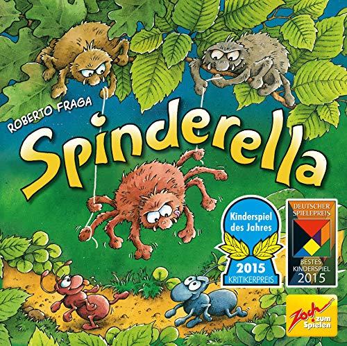 Spinderella Kindgerechtes Wettlaufspiel / Gesellschaftsspiel