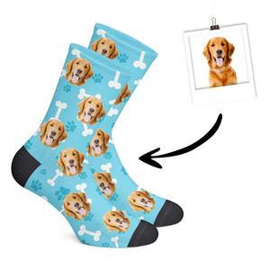 """Gesicht auf Socken - """"lustiges"""" Geschenk zu Weihnachten"""