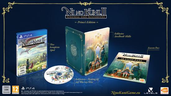 Ni No Kuni II: Schicksal eines Königreichs - Prince's Edition (PS4) für 9,99€ (GameStop Offline)