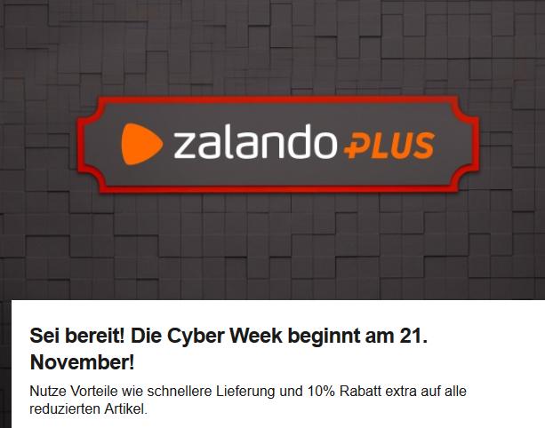 Zalando plus für 9,90 statt für 15€ im Jahr + 10% (Probemitgliedschaft möglich)