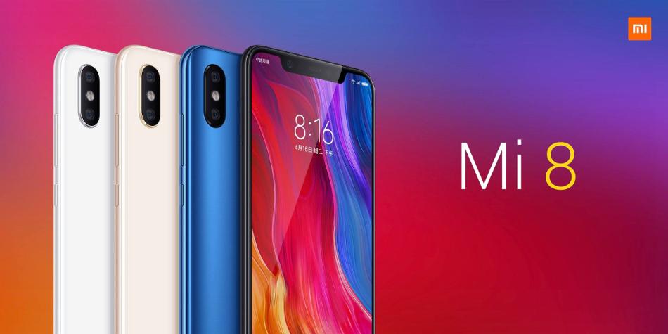 Xiaomi Mi8 6GB RAM 256GB ROM Snapdragon 845