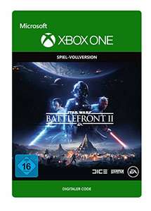 Star Wars Battlefront II (Xbox One Digital Code) für 7,50€ (Amazon)