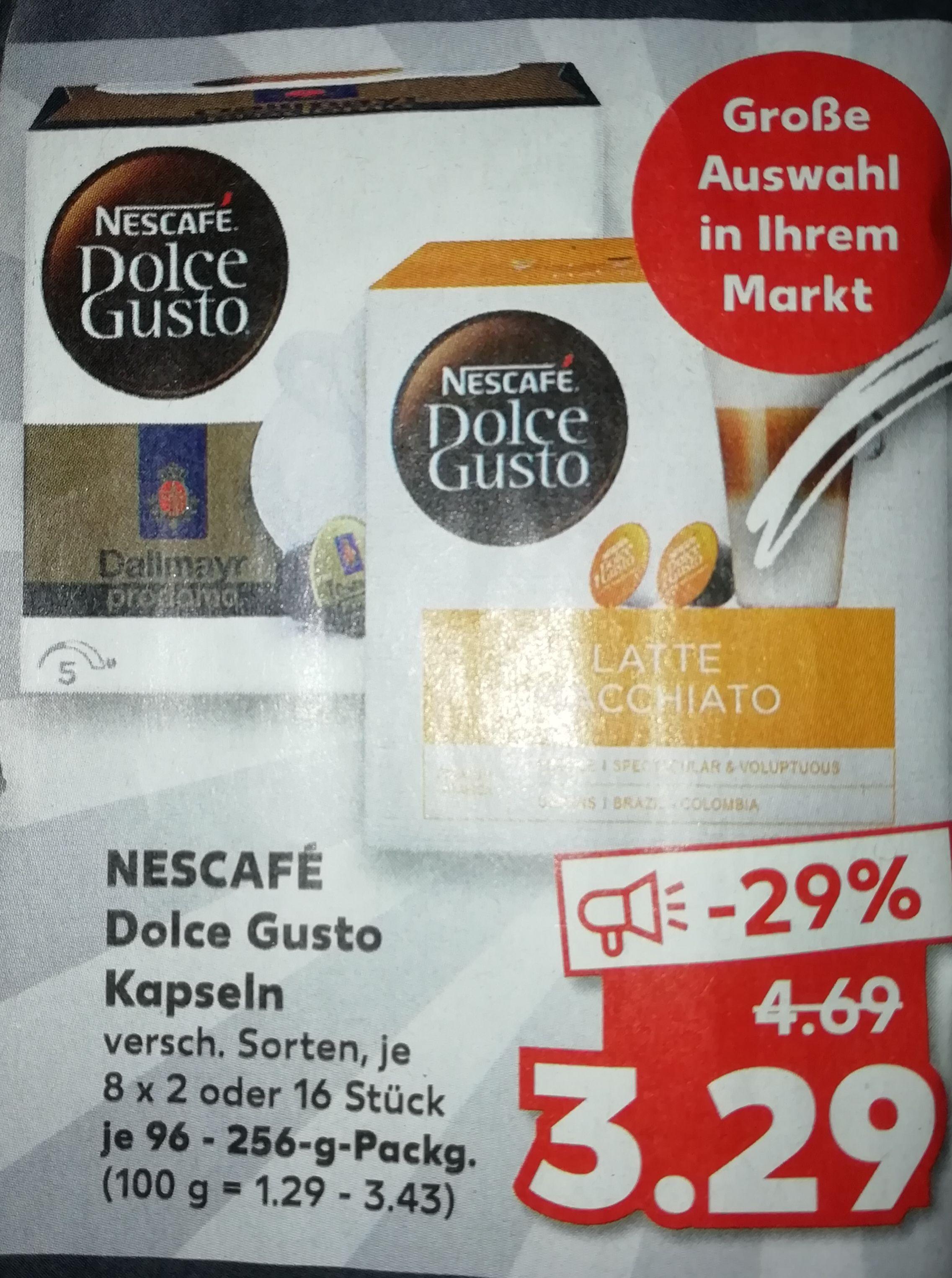 [Kaufland] Nescafe Dolce Gusto Kapseln