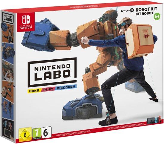 Nintendo Labo Toy-Con 02 - Robot Kit (Switch) für 14,78€ inkl. Versand (Bol NL)