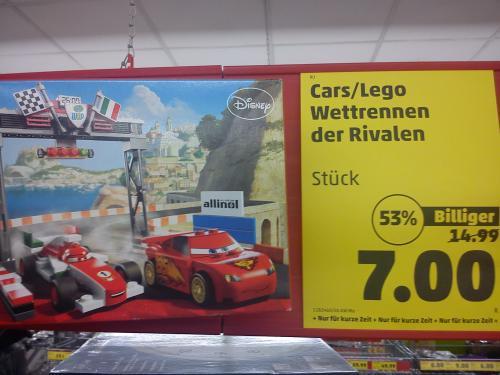 [Lokal@Penny Dresden] Lego Cars 8423 Wettrennen der Rivalen für 7 Eur