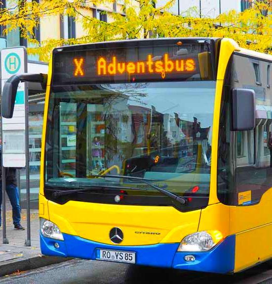 [Rosenheim & Umland] Kostenloser Busverkehr an allen 4 Adventssamstagen