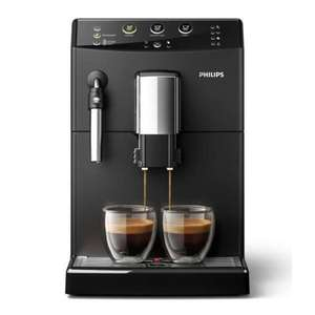 Philips HD8827/01 Kaffeevollautomat mit Milchaufschäumer + 10 Fach Payback