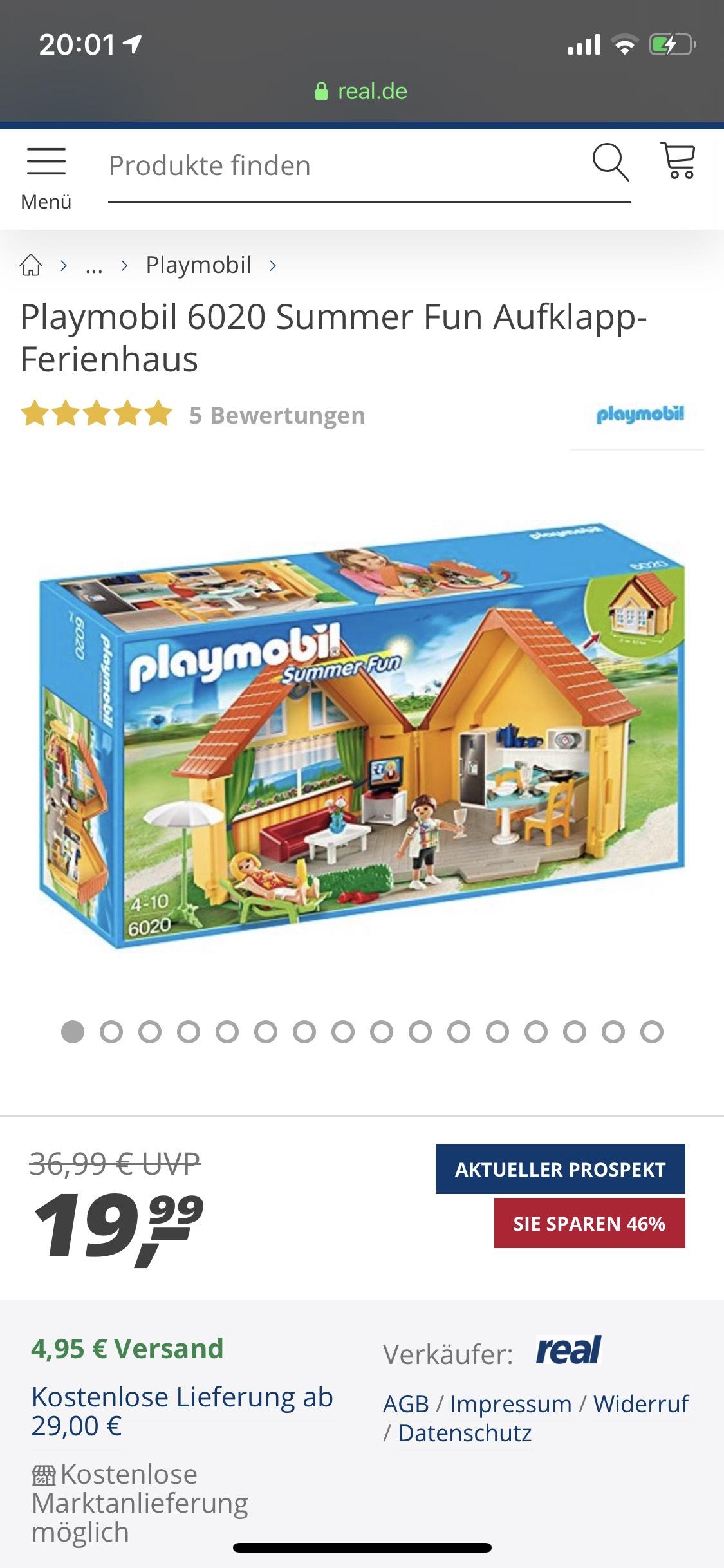 Playmobil Summer Fun Aufklappferienhaus