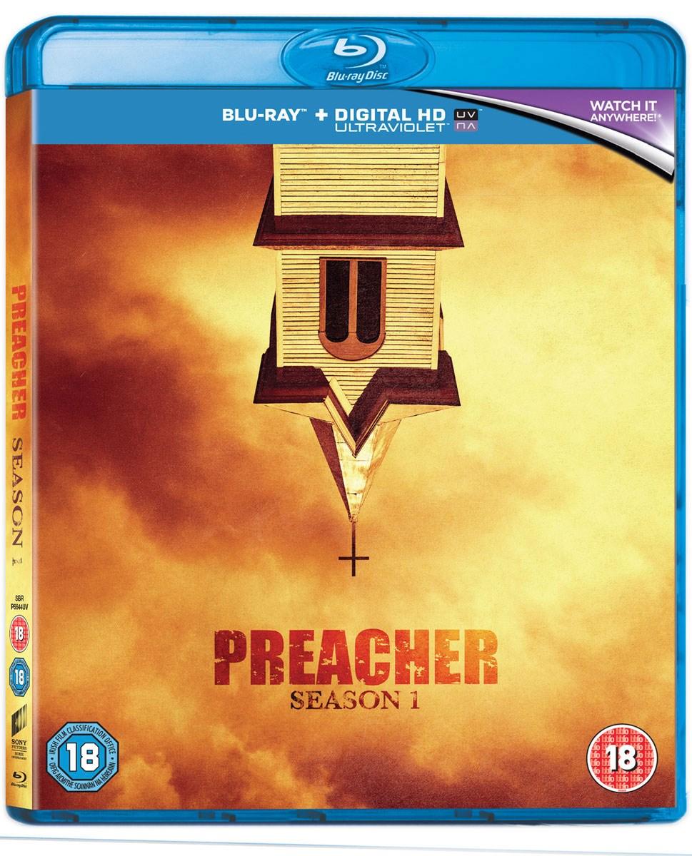 Preacher - Die komplette erste Season Blu-ray inkl. dt. Tonspur