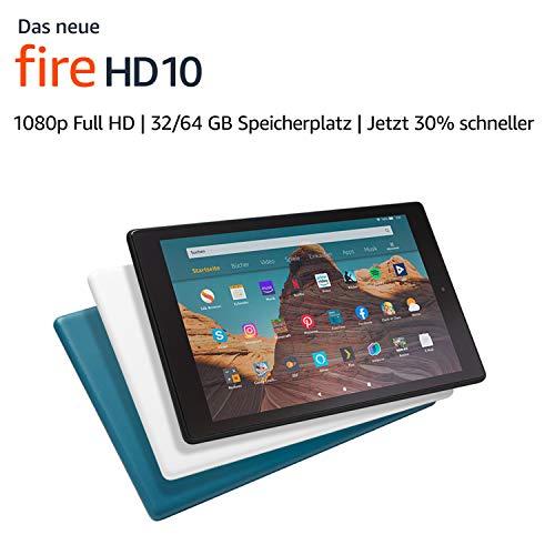Fire HD 10 Tablet mit Spezialangeboten 64GB für 139,99€ / 32GB für 99,99€ - [Amazon/Saturn/MM]