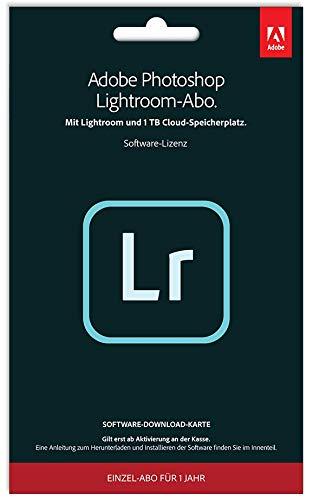 [AMAZON] Adobe (Photoshop) >>>Lightroom<<< 1TB, 1 Jahreslizenz