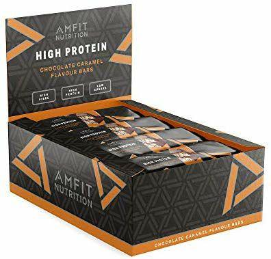 Amfit Amazon Protein Riegel 12x60g 32% Protein verschiedene Geschmäcker ab 10,44€