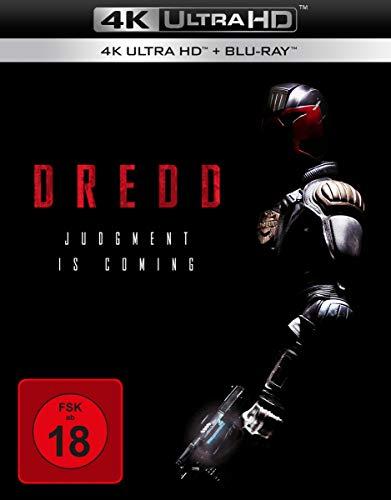 4K Blu-ray Ausverkauf bei Amazon.de - z.B. Dredd (4K Blu-ray + Blu-ray) für 11,97€